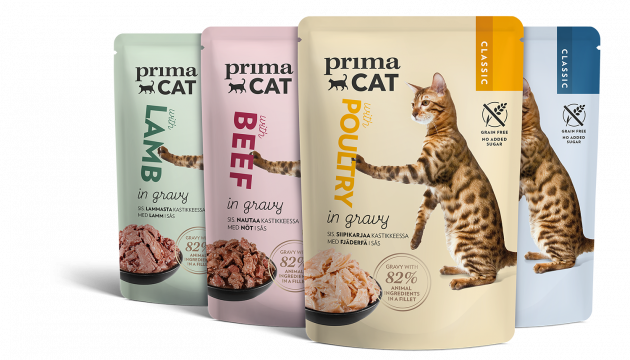 PrimaCat wet cat food