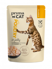 PrimaCat Classic Poultry in Jelly cat food