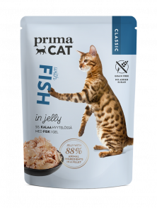 PrimaCat Classic Fish in jelly -cat food