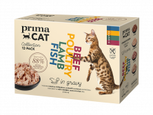 PrimaCat Classic gravy collection -cat food pack