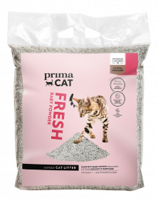 Natural and unbleached cat litter Baby Powder PrimaCat