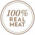 100 percent real meat