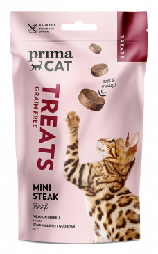 PrimaCat Softy Mini Steak Nauta -kissanherkku